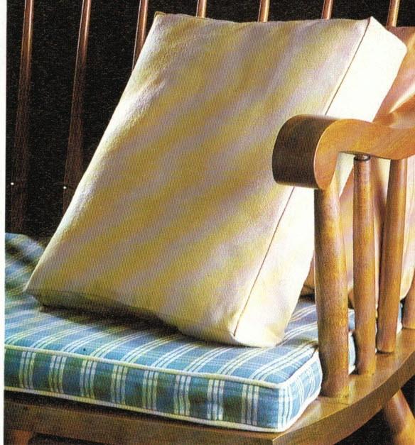 Come Confezionare Un Cuscino Per Sedia.Stoffe Per Cuscini Forme E Imbottiture Cucitomania Ferrara